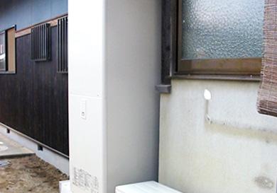 トイレや浴室の間取り変更とリビングの増築