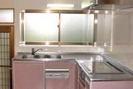 キッチンを全改装してオール電化へ