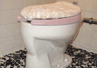 トイレ器具の取替工事
