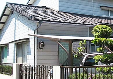 屋根瓦の軽量化と地震対策